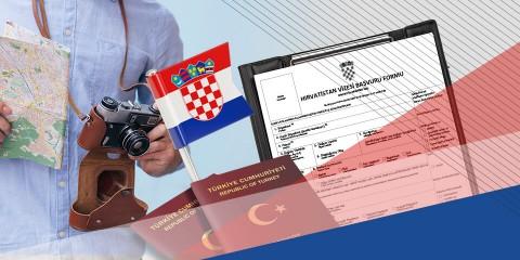 Hırvatistan Turistik Vize