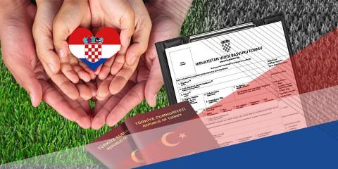 Hırvatistan Aile Arkadaş Ziyareti Vizesi